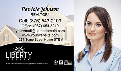 LIberty-Realty-Business-Card-Core-With-Full-Photo-TH76-P2-L3-D3-Black-Others
