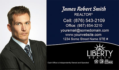 LIberty-Realty-Business-Card-Core-With-Full-Photo-TH81-P1-L3-D3-Black-Blue-White