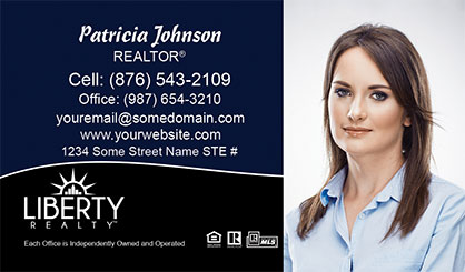 LIberty-Realty-Business-Card-Core-With-Full-Photo-TH81-P2-L3-D3-Black-Blue-White
