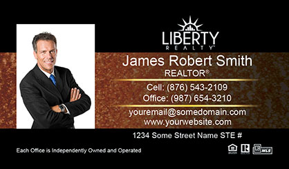 LIberty-Realty-Business-Card-Core-With-Medium-Photo-TH60-P1-L3-D3-Black-Others