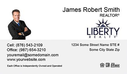 LIberty-Realty-Business-Card-Core-With-Small-Photo-TH51-P1-L1-D1-White-Others