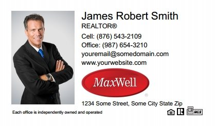 Maxwel Realty Canada Digital Business Cards MARC-EBC-006