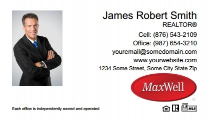 Maxwel Realty Canada Digital Business Cards MARC-EBC-009