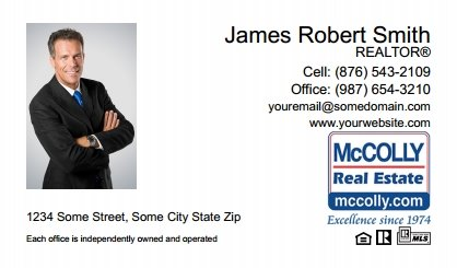 McColly Real Estate Digital Business Cards MRE-EBC-001
