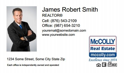 McColly Real Estate Digital Business Cards MRE-EBC-002