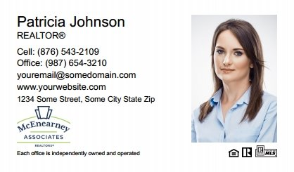 McEnearney Associates Business Card Labels MEA-BCL-004
