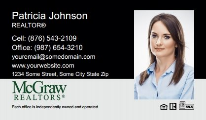 McGraw Realtors Business Card Labels MGR-BCL-003