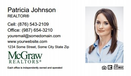 McGraw Realtors Business Card Labels MGR-BCL-004