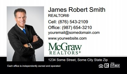 McGraw Realtors Business Card Labels MGR-BCL-005