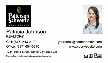 Patterson-Schwartz-Business-Card-Compact-With-Small-Photo-T5-TH08W-P2-L1-D1-White