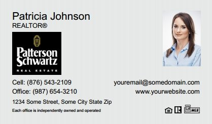 Patterson-Schwartz-Business-Card-Compact-With-Small-Photo-T5-TH09BW-P2-L1-D1-Black-Others