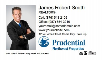 Prudential Real Estate Canada Business Card Labels PRUC-BCL-001