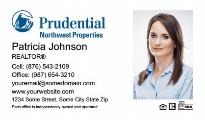 Prudential Real Estate Canada Business Card Labels PRUC-BCL-002