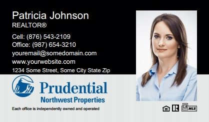 Prudential Real Estate Canada Business Card Labels PRUC-BCL-003