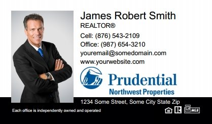 Prudential Real Estate Canada Business Card Labels PRUC-BCL-005