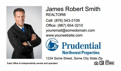 Prudential Real Estate Canada Business Card Labels PRUC-BCL-006