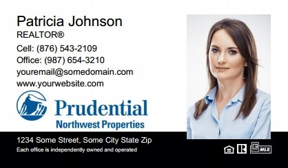Prudential Real Estate Canada Business Card Labels PRUC-BCL-007