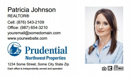 Prudential Real Estate Canada Business Card Labels PRUC-BCL-008