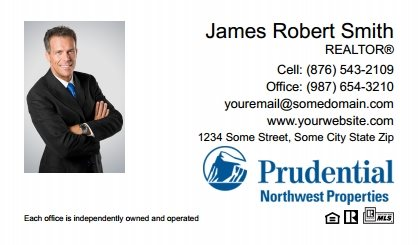 Prudential Real Estate Canada Business Card Labels PRUC-BCL-009