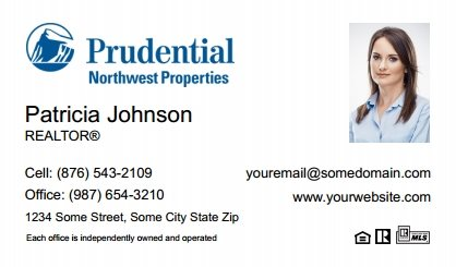 Prudential real estate business cards sure factor surefactor prudential real estate canada business cards pruc bc 029 reheart Images