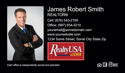 Realtyusa Business Cards RT-BC-001