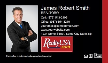 Realtyusa Business Cards RT-BC-002