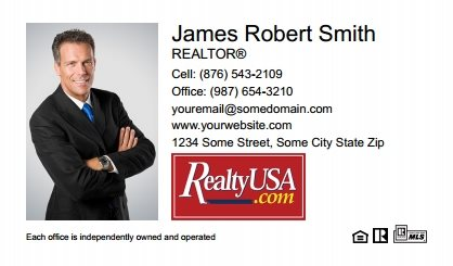 Realtyusa Business Cards RT-BC-003
