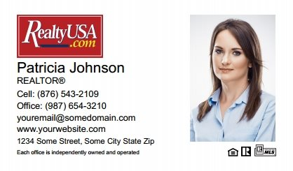 Realtyusa Business Cards RT-BC-006