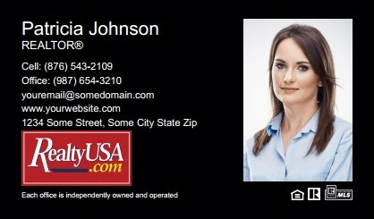 Realtyusa Business Cards RT-BC-007