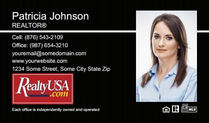 Realtyusa Business Cards RT-BC-008