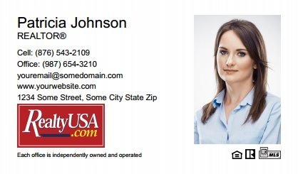 Realtyusa Business Cards RT-BC-009