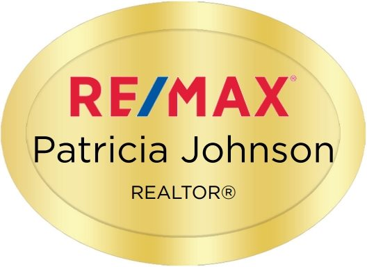 Remax Name Badges Oval Golden (W:2