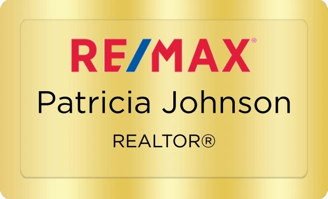 Remax Name Badges Golden (W:2