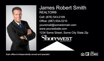 Shorewest Realtors Business Cards SR-BC-001