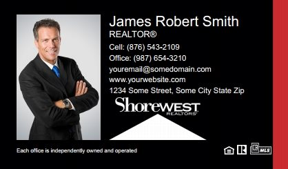Shorewest Realtors Business Cards SR-BC-002