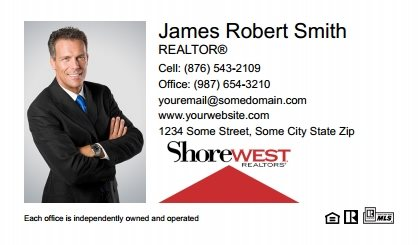 Shorewest Realtors Business Cards SR-BC-003