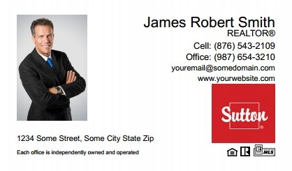 Sutton business cards stationery for canadian real estate sutton canada business cards sutc bc 001 reheart Images