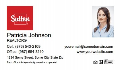 Sutton business cards stationery for canadian real estate sutton canada business cards sutc bc 004 reheart Images