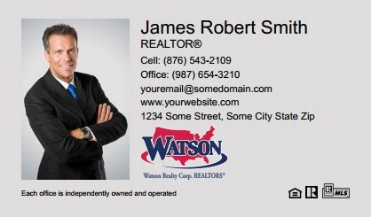 Watson Realty Business Cards WRC-BC-001