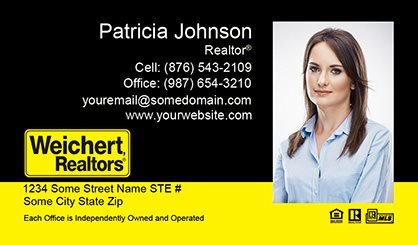 Weichert business cards templates printing and online design weichert business cards weichert bc 008 colourmoves