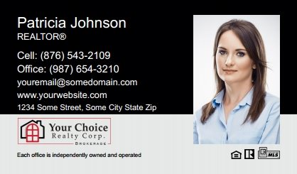 Your Choice Realty Canada Business Card Magnets YCRC-BCM-003