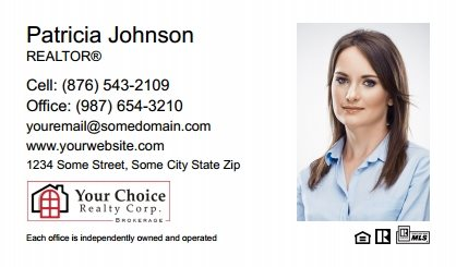 Your Choice Realty Canada Business Card Magnets YCRC-BCM-004