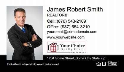 Your Choice Realty Canada Business Card Magnets YCRC-BCM-005