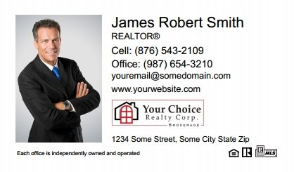 Your Choice Realty Canada Business Card Magnets YCRC-BCM-006