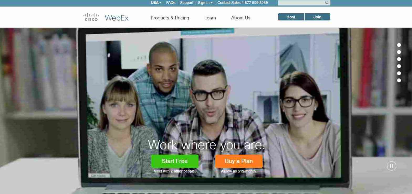 WebEx Video Conferencing and Collaboration