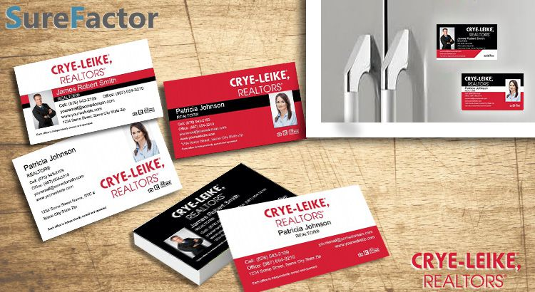 Crye Leike Inc Realtors Business Card Magnets
