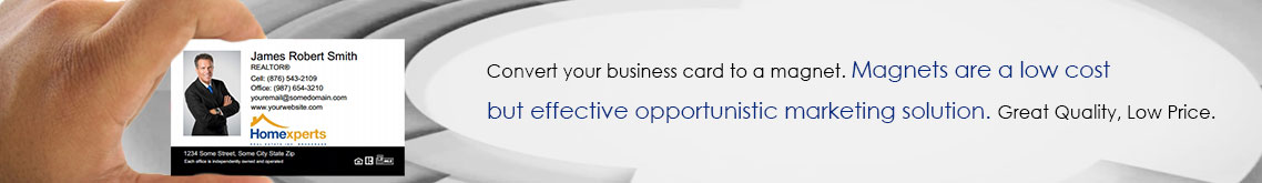 Homeexperts Canada Business Card Magnets