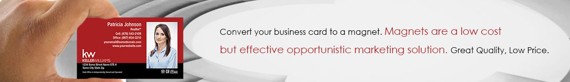Keller Williams Business Card Magnets