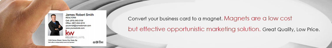 Keller Williams Canada Business Card Magnets
