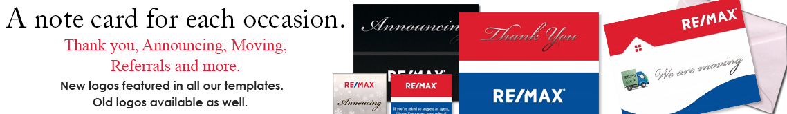 RE/MAX Note Cards